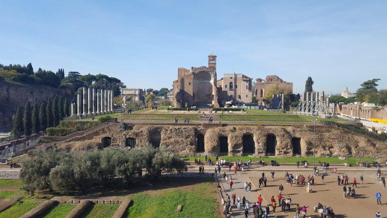 Храм богини красоты - Венеры и богини Рима –Ромы.