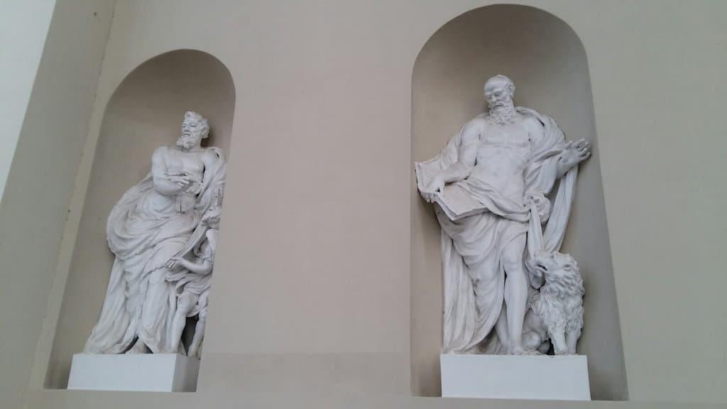 Евангелисты Св. Матфей и Св. Марк в Вильнюсе