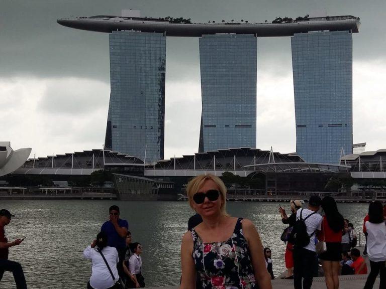 Марина Бэй Сандс в Сингапуре