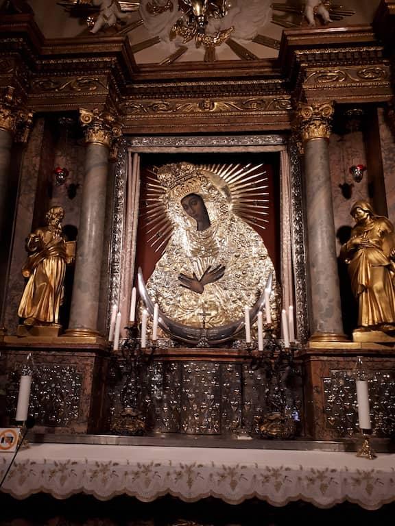 Икона Божией Матери в Вильнюсе